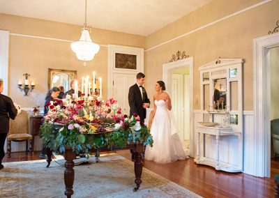 Southern Graces Wedding Catering at the Gingerbread House in Savannah, GA | Photography by Nichole Barrali