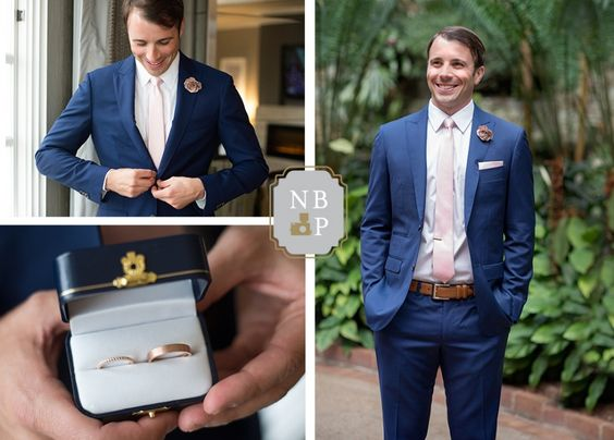 Jamie Newton awaits his bride, Britt | Southern Graces