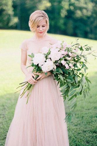 Arm Sheaf Bridal Bouquet