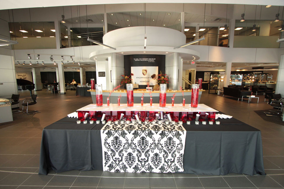 Hennessey Porsche Event Design And Catering In Atlanta 12