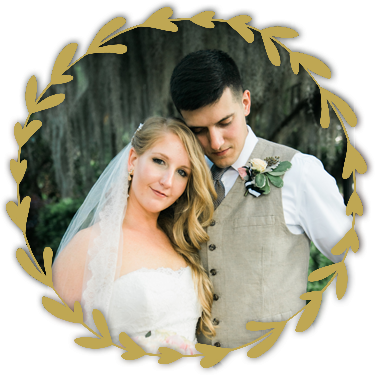 Southern Graces Real Wedding: Brandi and Paul at the Beaufort Inn