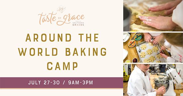 Around the World Baking Camp