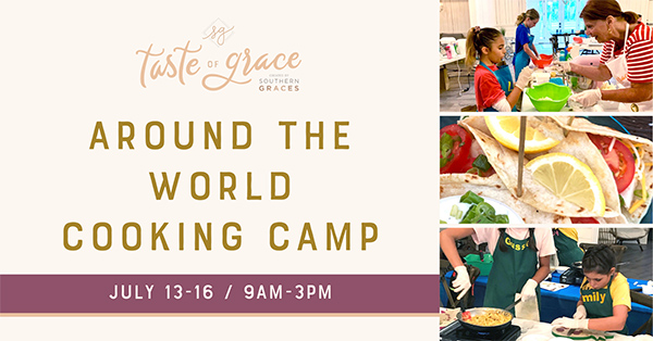 Around the World Cooking Camp