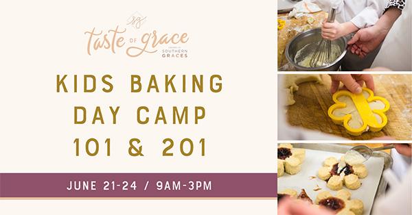 Kids Baking Day Camp 101 & 201
