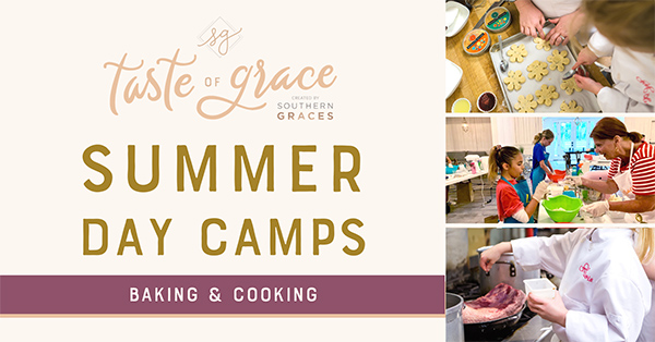 Taste of Grace Summer Day Camps - Baking & Cooking